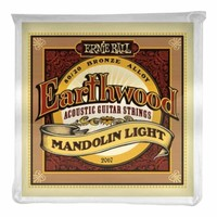 Ernie Ball 2067 Earthwood Light Loop End 80/20 Bronze Mandolin Strings