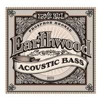 Ernie Ball 2070 Earthwood Acoustic Bass Guitar Strings Phosphor Bronze 45-95
