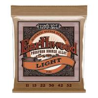Ernie Ball 2148 Earthwood Light Acoustic Guitar Strings 11 - 52