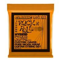Ernie Ball 2252 Hybrid Slinky Electric Guitar Strings - Pure Nickel - 9-46