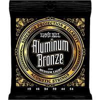 Ernie Ball 2566 Al-Bronze Acoustic Strings Med Light 12-54