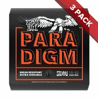 Ernie Ball PARADIGM Skinny Top Heavy Bottom Electric Guitar Strings - 10-52 - 3 Pack