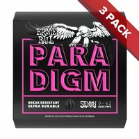 Ernie Ball PARADIGM Super Slinky Electric Guitar Strings - 9-42 - 3 Pack