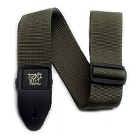 Ernie Ball Polypro Guitar Strap - Olive