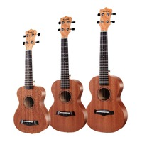 Enya EUS-20 Sapele Soprano Ukulele with Padded Gig Bag