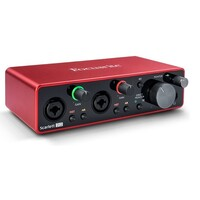 Focusrite Scarlett 2i2 Gen 3 2-in 2-out USB Audio Interface with 2 Preamps