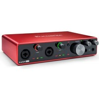 Focusrite Scarlett 8i6 Gen 3 8-in 6-out USB Audio Interface with 2 Mic Preamps