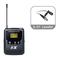 ICM IU-B10 Bodypack Transmitter including Lavalier and Headset Microphone