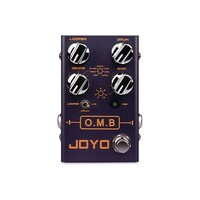 JOYO R-06 O.M.B. Looper and Drum Machine Guitar Pedal