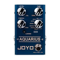 JOYO R-07 Aquarius Delay and Looper Guitar Pedal