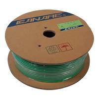 Canare L-4E6S Star Quad Microphone Cable - Green - 100m Roll