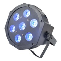 Stage Lighting Compact LED DMX PAR - RGBW 7 LED