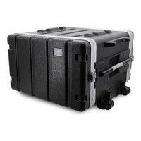 SWAMP 5RU ABS Roadcase Rack Case w/ Wheels