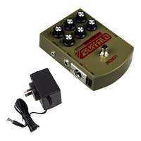 MOEN MO-BA Buffalo Swept Mids EQ, DI Guitar Pedal - Gen 3 w 9V Linear Power