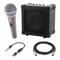 Kids Portable Microphone Package - 10W Battery Powered Amp / Speaker