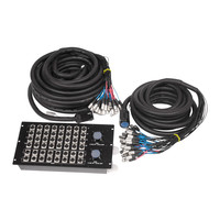 48 Channel - 32IN 16OUT - Multi-pin Stage Box w/ 30m Monitor Split