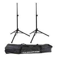 Speaker Stand Performance Pack - 2x Speakers Stands and Carry Bag