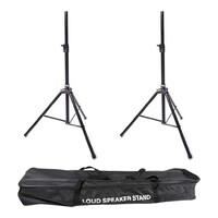 Speaker Stand Pro Pack - 2x Speakers Stands and Carry Bag