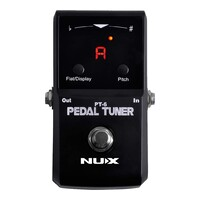 NUX PT6 Stompbox Series Polyphonic Strum Tuner Pedal