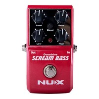 NUX Scream Bass Overdrive Pedal