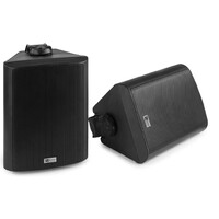 Power Dynamics BC65V Indoor Outdoor IP56 Speaker Pair - Black