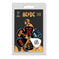 AC/DC #4 Celluloid Guitar Picks - 6 Pack - 0.71mm