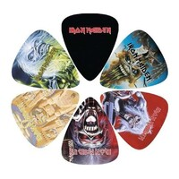 Iron Maiden #2 Celluloid Guitar Picks - 6 Pack - 0.71mm