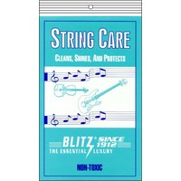 Blitz String Care B301 Cleaning Cloth for Metal Strings