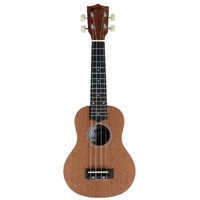 Kealoha BU21 Soprano Ukulele in Natural Matte Finish