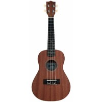 Kealoha BU23 Concert Ukulele in Natural Matte Finish