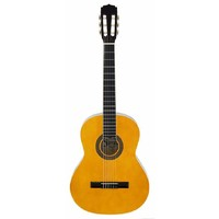 Aria Fiesta FST200N 4/4-Size Classical, Nylon String Guitar in Natural