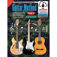 Progressive Guitar Method Book 2 Online Video & Audio