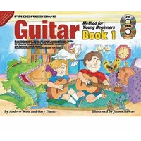 Progressive Guitar Method 1 for Young Beginners Lesson Book Online Lessons