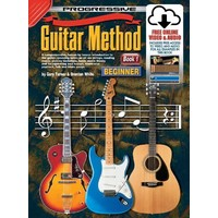 Progressive Guitar Method Book 1 Online Video & Audio - Beginner