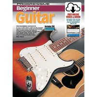 Progressive Beginner Guitar Book, Online Video & Audio