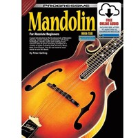 Progressive Mandolin Book Online Video & Audio - Beginner