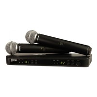 Shure BLX288/SM58 Dual Channel Handheld Wireless System - SM58 Handheld