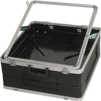 SWAMP ABS Mixer Case - 12U - 19 inch - Adjustable Height Rack Rails