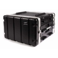 SWAMP 5RU ABS Roadcase Rack Case Extra Depth w/ Wheels