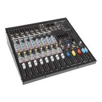 SWAMP S12-MK2 12CH Mixing Desk - Compressor - Effects - USB Audio Interface