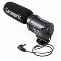 Saramonic SR-M3 Directional Condenser Microphone for DSLR Cameras and Camcorders