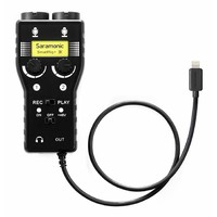 Saramonic SmartRig+ Dual Smartphone Audio Interface - Lightning Connector