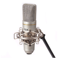 iSK CRU-1 USB Condenser Microphone and Pop Filter