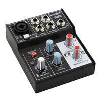 SWAMP 3 Channel Mixer Audio Interface - 1 Mic Preamp - USB Record / Playback