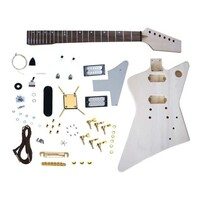 SWAMP DIY Build Your Own Electric Guitar Kit - Explorer Style