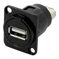 SWAMP TAUSB USB Type-A Panel Mount Connector