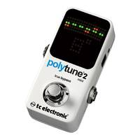 TC Electronic PolyTune 2 Mini - Guitar Tuner Pedal