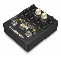 TC Electronic Spectradrive Bass Preamp Overdrive Compression Line Driver Pedal