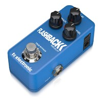 TC Electronic Flashback Mini Delay Ultra-Compact Delay Pedal
