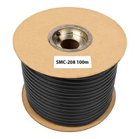 SWAMP SMC-208 Stage Series BLACK Microphone Cable - 100m Roll